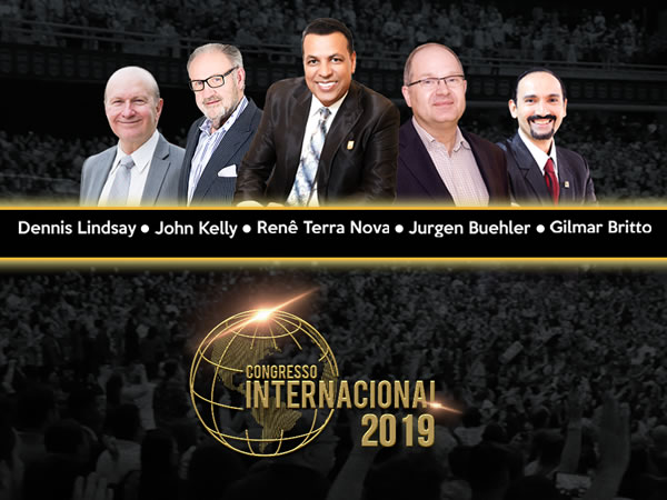 Preletores do Congresso Internacional 2019